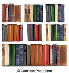 set of spine books