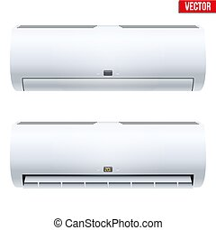 set of Split air conditioner house system