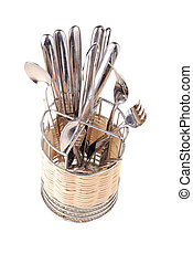 Set of spoons, plugs