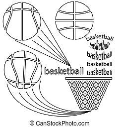 Set of Sport Basketball Icons