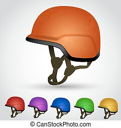 Set of sport helmet