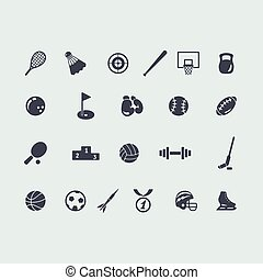 Set of sport icons