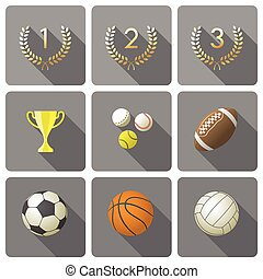 Set of sport icons..eps