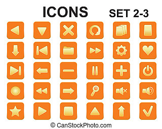 square icons with rounded corners
