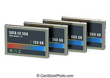 Set of SSD