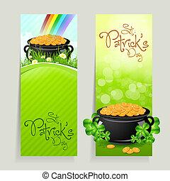 Set of St. Patricks Day Cards - Set of St. Patrick's Day...