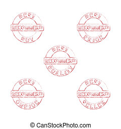 Set of stamps for sales