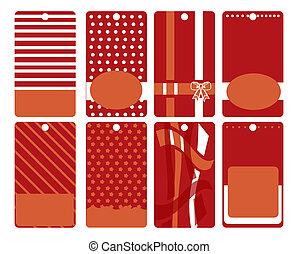 Set of sticker. label pattern isola