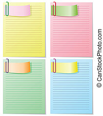 set of striped sheets