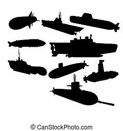 Set of submarines