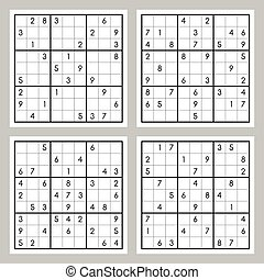 Set of sudoku