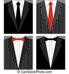 Set of suits