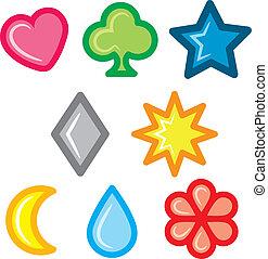 Set of symbol