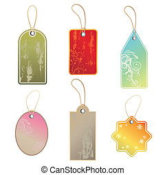 set of tags