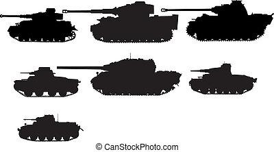 tanks - set of tanks