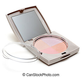 Set of the make-up with mirror