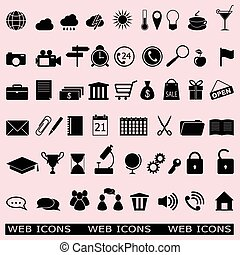 set of the web icons