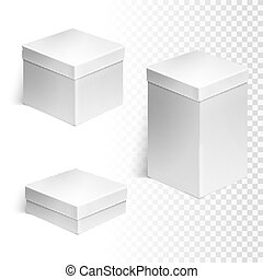 Set of three boxes