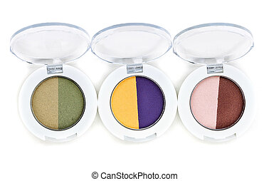 set of three colored Purdy makeup