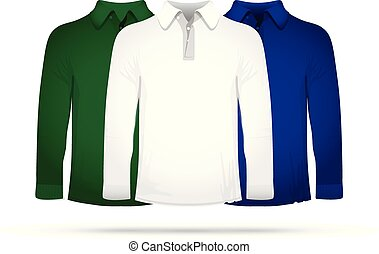 Set of three long t-shirts