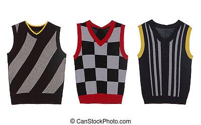 set of three waistcoat