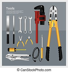 Set of Tools Collection