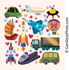 set of Transport icons