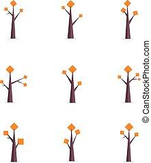 Set of tree unique collection
