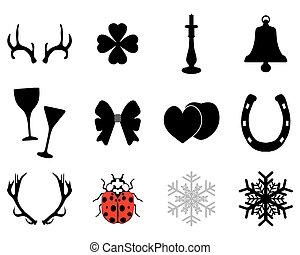 twelve icons