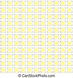 Set of typical LED seamless pattern - Set of typical LED...