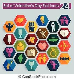 Set of Valentine's Day icons