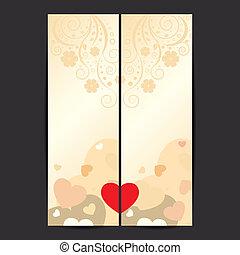 Set of Valentine's Day vector banner