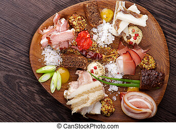 Set of Various Ham
