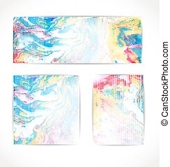 Set of vector abstract background. EPS 10