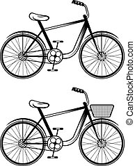 set of vector bicycles