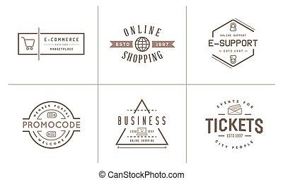 Set of Vector E-Commerce