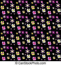Set of Vector Flowers