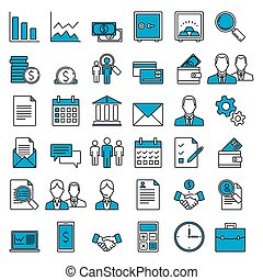 Set of vector icons