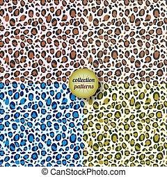 Design animal print pattern
