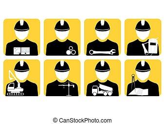set of vector workers