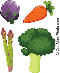 Set of vegetables 1