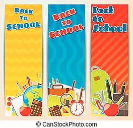 Back to School banners.