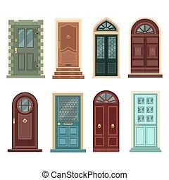 Set of Vintage Doors