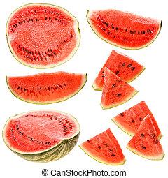 Set of watermelon
