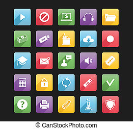 Set of Web Icons 3