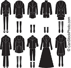 Womens Clothes Clipart
