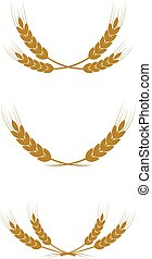 wreath of wheat