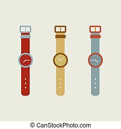 Set Of Wristwatch.