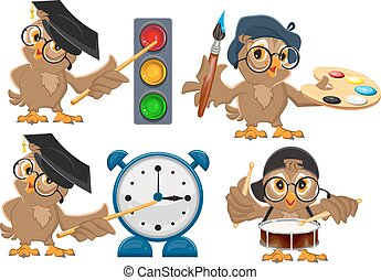 Set owl teacher