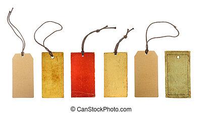 set paper price tags